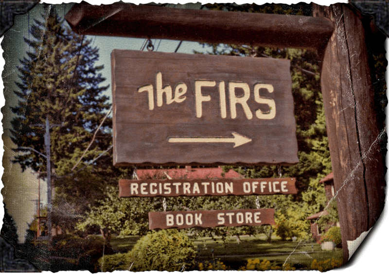 History - The Old Firs Sign