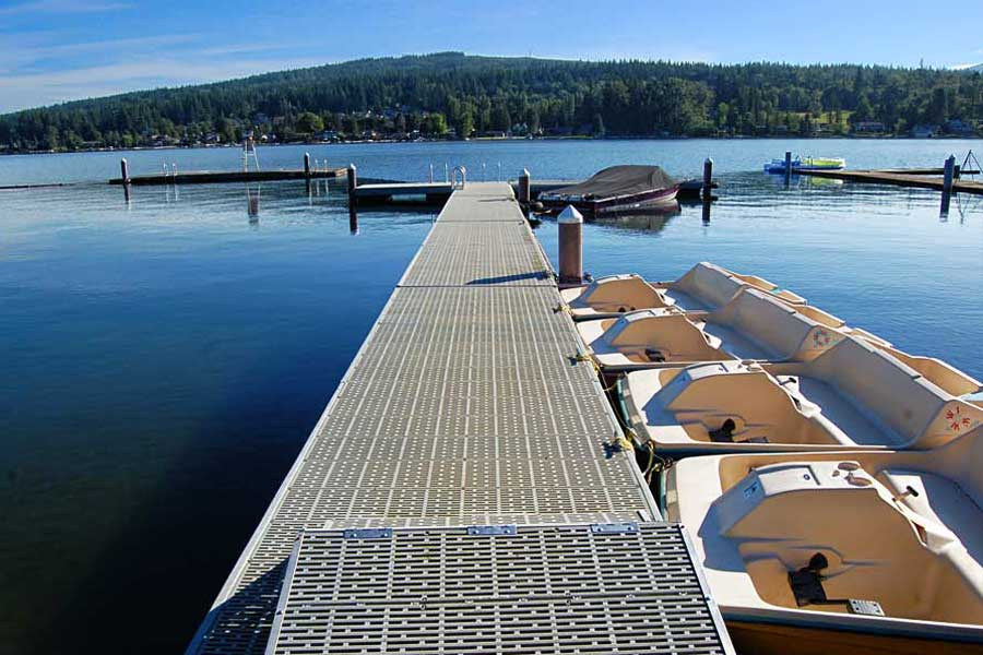 Dock at The Firs